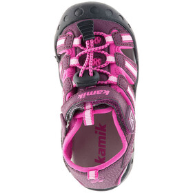 Kamik Crab Sandals Kids Plum